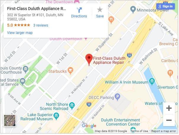 Appliance Repair Duluth, MN | 218-228-6285 | First-Class Appliance